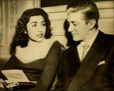 Princess Fatima of Iran and husband, Vincent Lee Hillyer