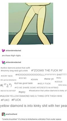 ANOTHER REASON TO LOVE YELLOW DIAMOND HOLY SHIT