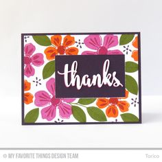 STAMPARADISE: MFT May Card Kit Countdown Day 1