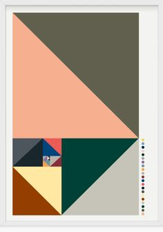 Christpher Gray. Graphic lovely colour combinations. Geometric art