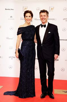 royalwatcher:  Bambi Awards, Germany, November 13, 2014-Crown Prince Frederik and Crown Princess Mary attended; Mary received a Bambi in recognition of her charity work and activism against domestic violence