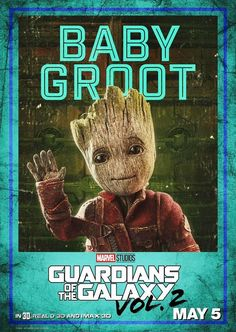 Baby Groot #GotGVol2