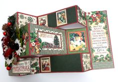 Merry Christmas Card, St Nicholas, by Einat Kessler, product by Graphic 45 photo 1