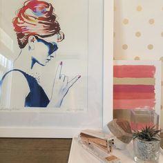 "Styling.  Art.  Accessories.  Wallpaper. 14 Likes, 3 Comments - Kate Dukat (@kmsddukat) on Instagram: ""It's still the weekend, Rock On. #interiordesign"""