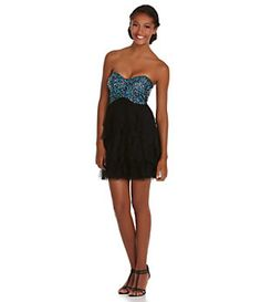 9b91e8beff7 Blondie Nites Sequin Corkscrew Dress