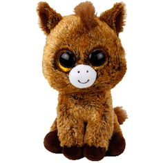 TY Beanie Boos Harriet Horse Soft Toy - is-sit tiegħi Beanie Babies, Ty Babies, Ty Animals, Plush Animals, Ty Beanie Boos Collection, Ty Peluche, Ropa American Girl, Cute Stuffed Animals, Big Eyes