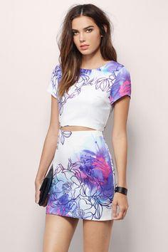 Melia Mini Dress; Must have floral dresses this spring at www.tobi.com | #SHOPTobi | Spring 16'