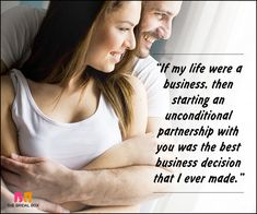Romantic Love Messages For Husband - If My Life Were A Business