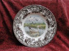 "Spode Woodland Snow GOOSE Dinner Plate s 10 75"" New w Orig Box   eBay"