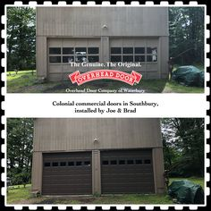 Garage Doors, Commercial, The Originals, Outdoor Decor