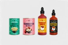 Cardinal, The Food Company – Brand Identity & Packaging on Behance