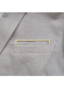 POCKETMEN - square The new high-tech pocket-square Iets anders dan de zijden pochet