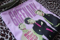 GREEN DAY  Upcycled Rock Band Tshirt Sling Tote Bag by evilrose, $28.50