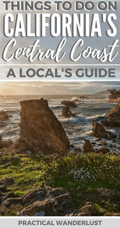 The Central Coast in California, USA is full of incredible places to explore. From charming towns to wineries to beaches to hot springs to hiking to wildlife, California's Central Coast has it all! This local's guide has all the insider tips for an amazing trip to the Central Coast in California, including what to do and where to eat & drink! | California Travel | Pismo Beach | Shell Beach | Avila Beach | San Luis Obispo |Morro Bay | Cayucos | Atascadero | Paso Robles | Los Osos | San Simeon