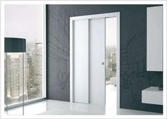Telescopic Single - Eclisse - Sliding Door Systems