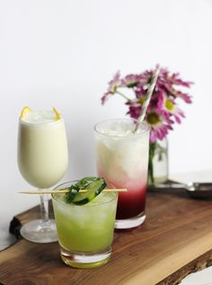 3 Spring Mocktails @themerrythought