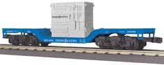 30-76576 - Dep. Center Flat Car w/Transformer Load General Electric