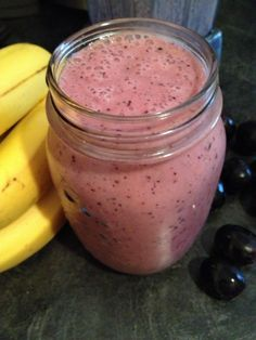 Banana Lemon Grape Smoothie