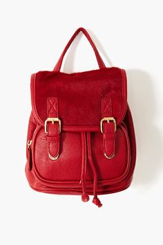 Red backpack???? love it!!!! Cher Backpack in Lookbooks Square Pegs at Nasty Gal