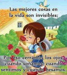 Las mejores cosas en la vida son invisibles