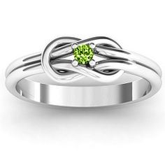 Sailor's Knot Ring -- stone is set similarly to the ring I once had.