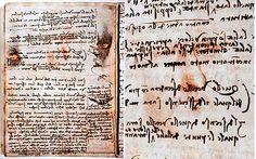 Leonardo da Vinci self portrait discovered hidden in manuscript