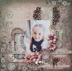 Heartfelt Creations | Once Upon A Time Layout