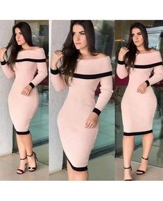 Swans Style is the top online fashion store for women. Shop sexy club dresses, jeans, shoes, bodysuits, skirts and more. Prom Dresses With Sleeves, Sexy Dresses, Cute Dresses, Beautiful Dresses, Dress Outfits, African Fashion Dresses, Teen Fashion Outfits, Classy Outfits, Casual Outfits
