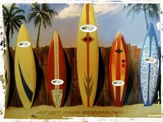 Smiling Surfboard
