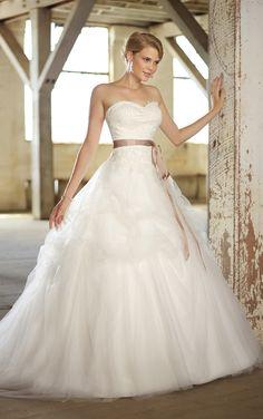 vestido de novia boda estilo princesa - aVestidos.