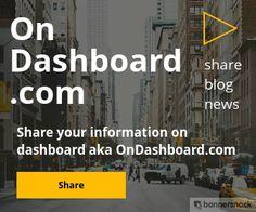 Share your blog/ website OnDashboard.com