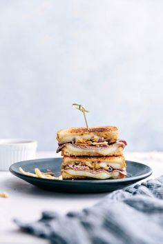 French Dip Grilled Cheese | Chelsea's Messy Apron