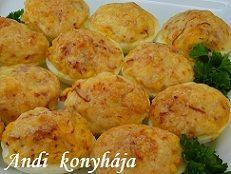 Andi konyhája - Sütemény és ételreceptek képekkel - G-Portál Baked Potato, Muffin, Potatoes, Baking, Ethnic Recipes, Food, Potato, Bakken, Essen