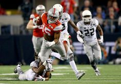 The 2015 Heisman Trophy odds were released Friday by Bovada, and Ohio State running back Ezekiel Elliott leads the pack at 6-1.