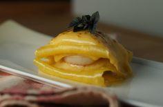 Lasagne au pétoncle