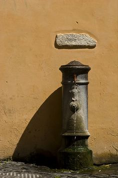 Drinking fountain in Rome.