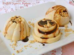 """Il semifreddo alle nocciole è un dolce che, oltre ad essere molto facile da preparare si presta ad """"addolcire"""" in maniera paradisiaca ogni momento del dopo pasto ma sicuramente non solo. Il semifreddo alle nocciole è privo di gelatina o colla di pesce."""