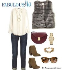 Image result for fashion accessories with outfits over 40