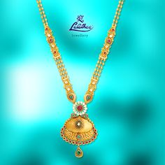 LALITHAA_JEWELLERY New arrival of irresistible Antique Haram studded with colourful stones. For more collections visit - www.lalithaajewellery.com.