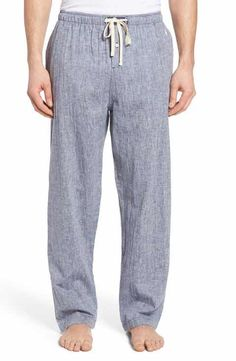 Linen Classical Pajama Trouser for Men/ Linen Mens Loungwear/ Linen Sleepwear For Men LvaTFTPXaH