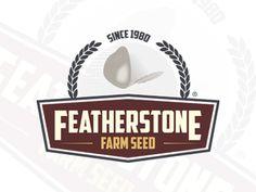 Featherstone Farm Seed #2 Portfolio Logo, Seeds