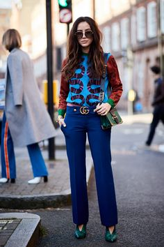 See the looks that caught our attention, and stay tuned for more of LFW's top street style moments.