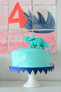 Simple Dino Cake
