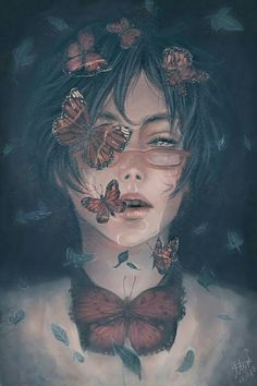 Find images and videos about boy, art and anime on We Heart It - the app to get lost in what you love. Art Sketches, Art Drawings, Arte Obscura, Digital Art Girl, Dark Fantasy Art, Boy Art, Surreal Art, Pretty Art, Anime Art Girl