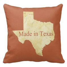#Texas #Pillow