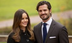 PRINCE CARL PHILIP OF SWEDEN Whether racing cars or stepping out with his wife Princess Sofia, pictured, the Swedish Prince is always perfectly groomed. A debonair cut and facial hair were his best accessories during this couples' visit to Alvdalen, Sweden in October 2015.