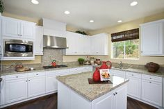 Hamilton Thermofoil door style with a white finish as featured in a kitchen. Kitchen Remodel, Kitchen Cabinets, Floor Plans, It Is Finished, Flooring, Doors, Hamilton, Home Decor, Ideas
