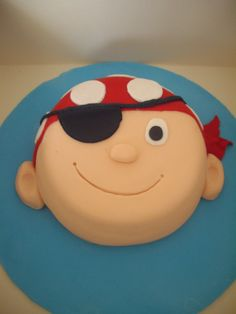Egg Free Pirate Cake