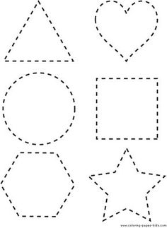 Printable Shapes | printable Shapes coloring pages and sheets can be found in the Shapes ...