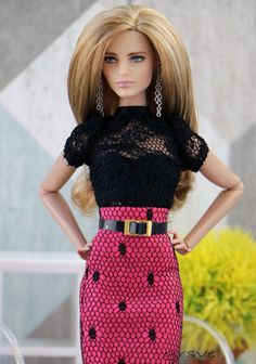 Natalia Vodianova barbie doll